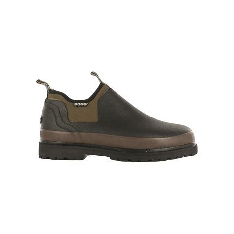 bogs s tillamook bay waterproof slip on rubber shoes