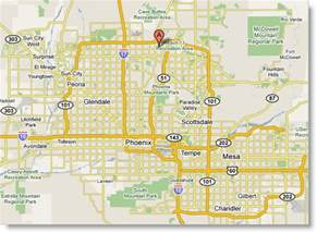 Phoenix Area Map by December 2011 Free Printable Maps
