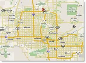 Maps Phoenix by Printable Phoenix Map