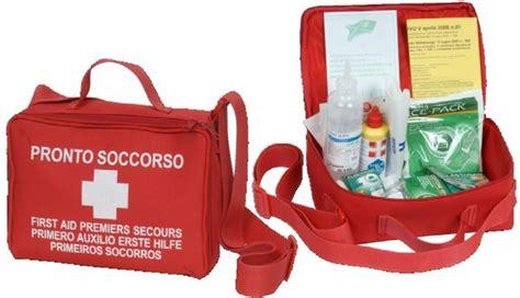 cassetta pronto soccorso 626 borsa morbida 626 kit di pronto soccorso all 2 base