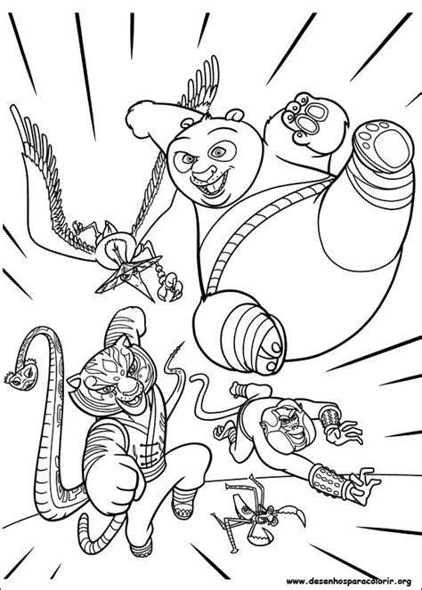 printable coloring pages kung fu panda 2 kung fu panda 2 para colorir