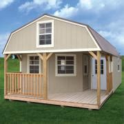 Small Cabin Floor Plans Wrap Around Porch by Products Derksen Portable Buildings