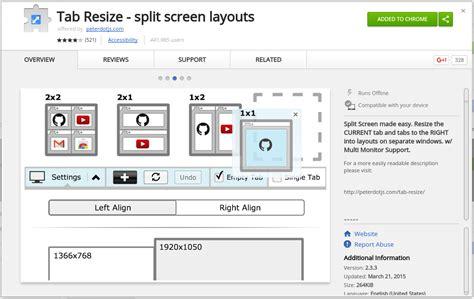 chrome theme resize tab resize splits your chrome window easily eduk8me