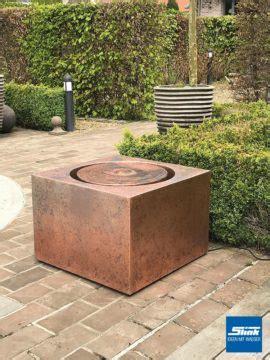 indoor kupfer brunnen terrassenbrunnen archive slink ideen mit wasser