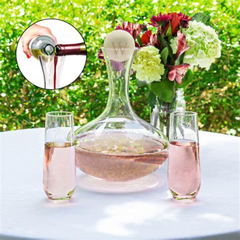 Wedding Ceremony Unity Drink by Personalized Wedding Wine Unity Ceremony Set