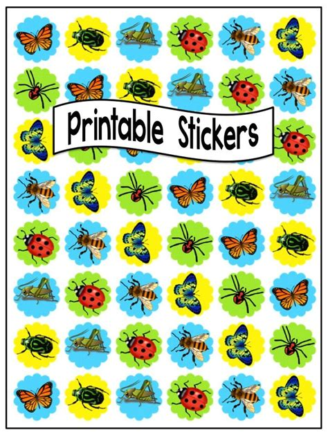 printable stickers round 1074 best education printables images on pinterest