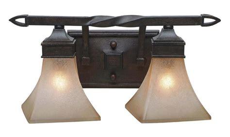 wrought iron vanity light golden roan timber genesis 2 light wrought iron vanity