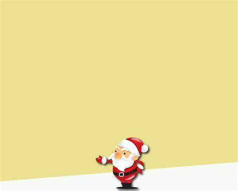 christmas santa powerpoint background