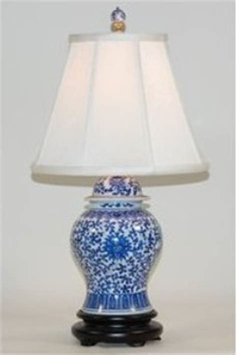 Ballards Design Atlanta sky blue ginger jar lamps table lamp ebay ginger jar lamps