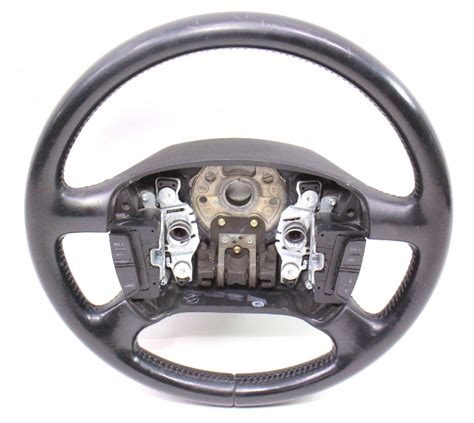 Bags Catenzo Rh 612 461 black leather steering wheel vw passat b5 b5 5 jetta gti