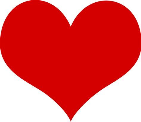 printable clip art hearts heart free vector 4vector