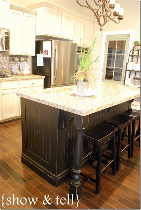 kitchen island makeover ideas best 25 black kitchen island ideas on pinterest kitchen