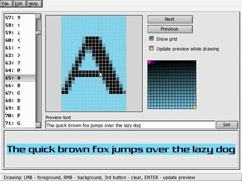 font editor depot allegro font editor
