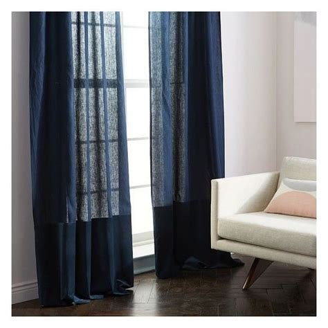 the best 28 images of diy color block curtains no sew