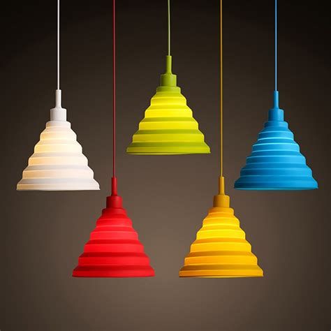 colorful pendant lights 5 color diy pendant lights for