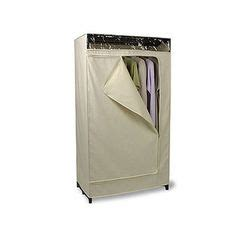 Canvas Clothes Closet by Intermetro Clothes Rack With Cotton Canvas Cover Coats Cotton Canvas And Entry Ways