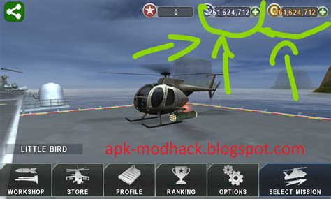 cara mod game gunship battle gunship battle helicopter 3d mod apk unlimited money