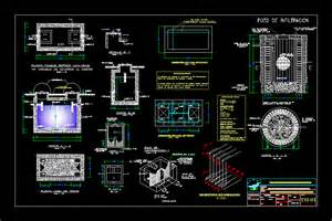 Bathroom Ventilation Septic Tank In Autocad Drawing Bibliocad