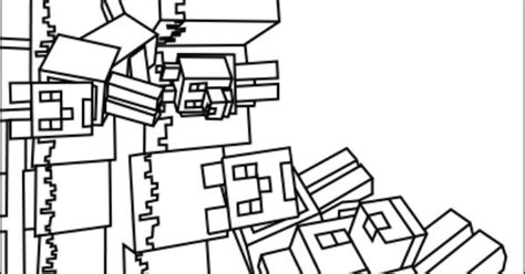 printable minecraft wolves coloring pages for the home