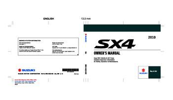 car repair manuals online pdf 2007 suzuki sx4 head up display download 2010 suzuki sx4 owner s manual pdf 297 pages