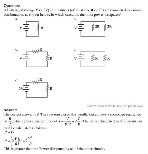 capacitor circuit practice problems 28 images sfa016 answer free sat ii physics practice