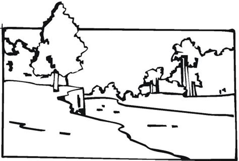 free coloring page of a river free coloring pages of river