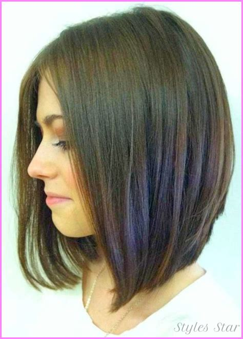 medium hair in back short in front short to medium haircuts front and back stylesstar com