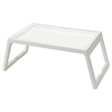 etagere tablett klipsk bed tray white ikea