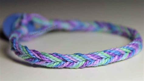tutorial fishtail friendship bracelet