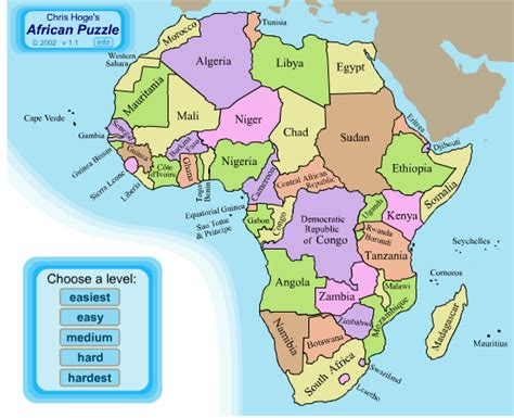 africa countries and capitals map puzzle africa map countries and capitals the country capitals