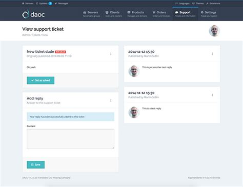 daoc multi server administration for directadmin on behance