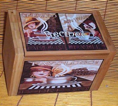 fat chef red wood wall shelf waiter bistro home decor ebay wood coffee recipe box bamboo cafe paris kitchen decor