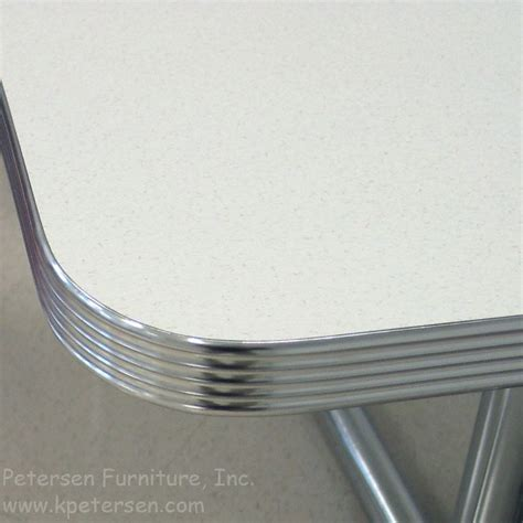 Metal Trim For Countertops by Diner Table Polished Grooved Aluminum Edge Kitchen