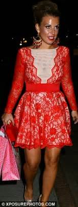 Frock Horror Of The Week What Not To Wear To Prom by Coleen Rooney Rekindles Sparkle After Recent Flurry Of