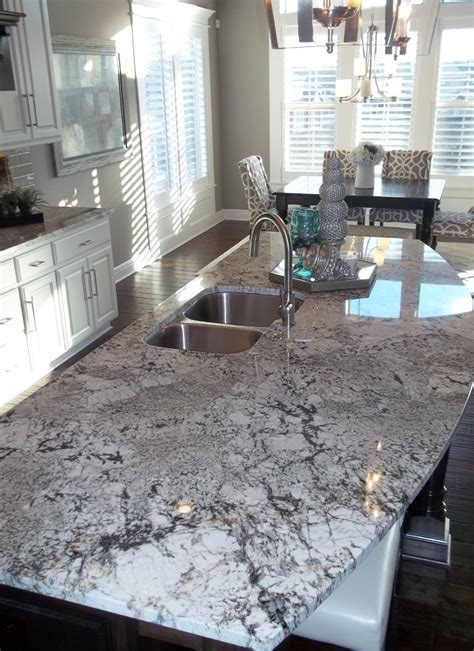 White Granite Kitchen Countertops Exodus White Granite Countertops That Serve You Genteel Feeling Decohoms
