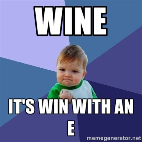 Wine Meme - its all about wine