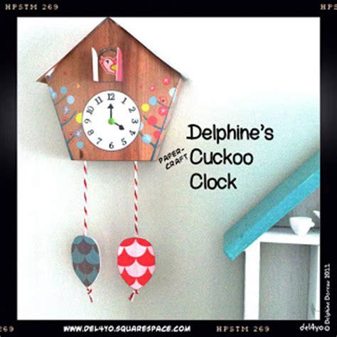 Papercraft Clock - ninjatoes papercraft weblog cuckoo clock papercraft