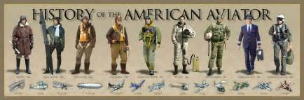 History of the american aviator poster history america