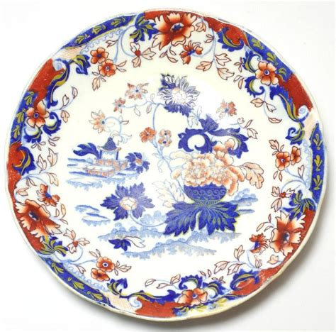japanese pattern dinnerware antique amherst japan 824 imari pattern bowl dish minton