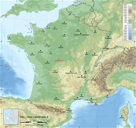 CARTE CHATEAUROUX : cartes de Châteauroux 36000