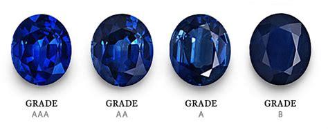 sapphire color chart sapphire grading certification sapphire education