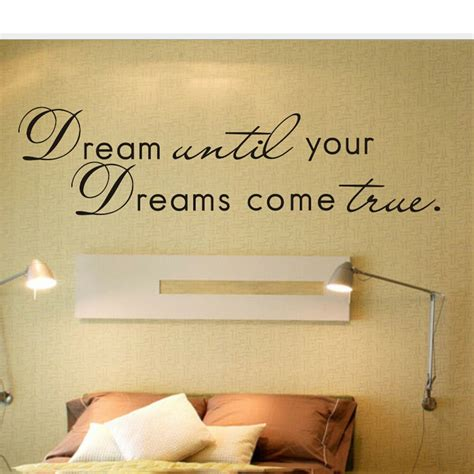 home decor sticker come ture home decor wall decals stickers quote diy
