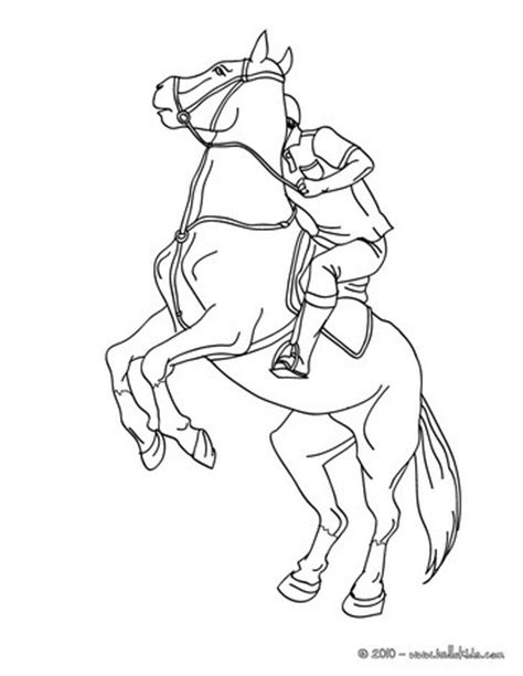 horse trainer coloring page man training a horse coloring pages hellokids com