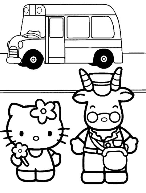 hello kitty at school coloring pages free printable back to school coloring sheets free back