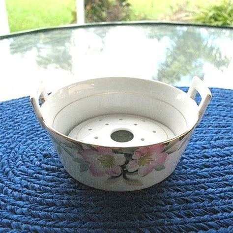 Tub Inserts For Sale Azalea Pattern Butter Tub With Drain Insert From