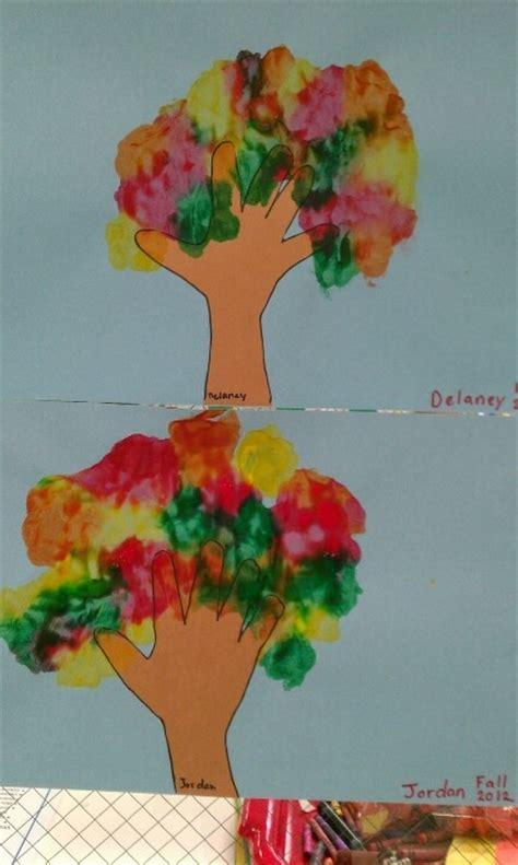 tree pattern for preschool craft fall tree craft for preschool kid stuff pinterest