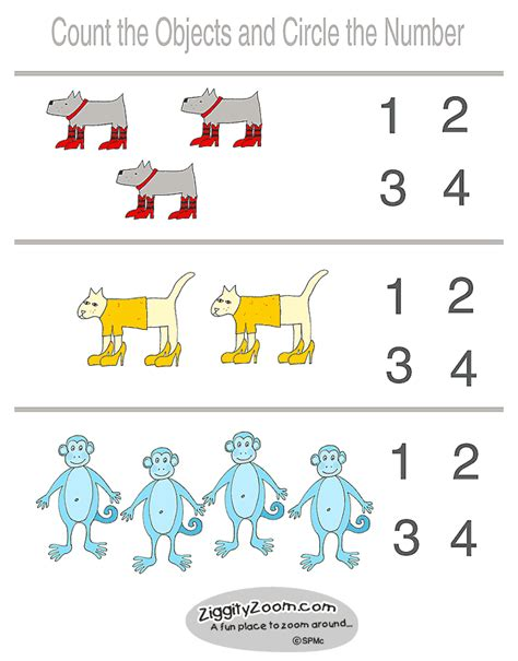 printable kindergarten numbers worksheets preschool worksheets photos images bloguez com
