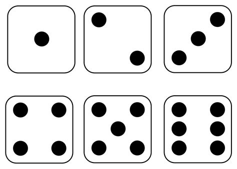 dice pattern activities dice printable cliparts co