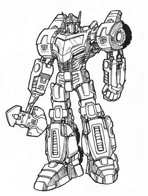 transformers coloring pages pdf colorare transformers disegno i transformers