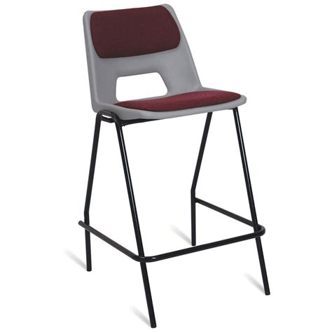 stools with backs for classroom advanced school high chair seat back pad
